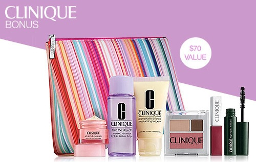 Clinique Gift with Purchase at Dillard's – GWP Addict