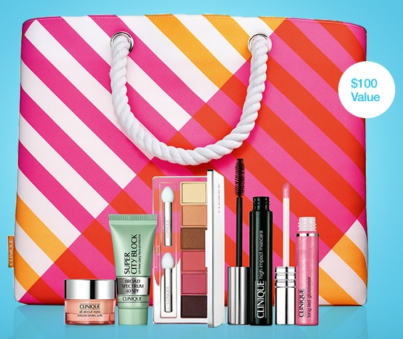 Summer in Clinique Purchase with Purchase