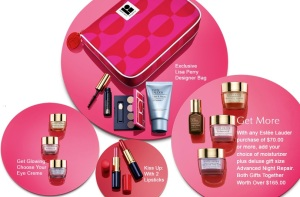 Estee Lauder GWP at Dillard's and Boscov's