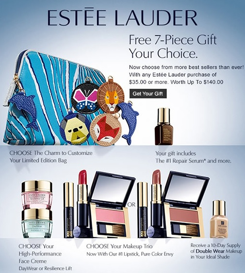 Estee Lauder Gift with Purchase at Dillard's – GWP Addict