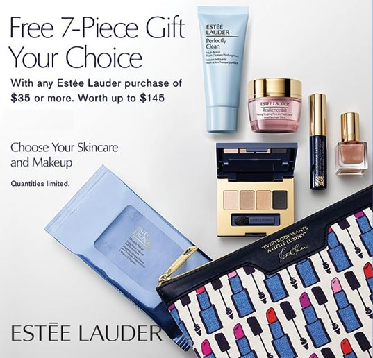 Estee Lauder Gift with Purchase at Boscov's – GWP Addict