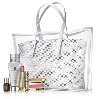 Estee Lauder is having a gift with purchase event at Neiman Marcus. This one is available both online and in stores until Jan 29, Gift will be added automatically to your cart online. With a $75 purchase, receive a cosmetics bag with: Your choice of one Pure Color .