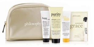 Free 5-pc Gift Philosophy Gift with Purchase @ Von Maur
