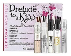 Sephora Prelude to a Kiss fragrance sampler