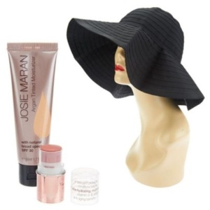 Josie Maran Argan Bohemian Beach Essentials @ QVC