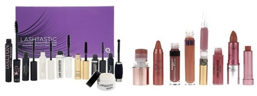QVC Lashtastic and Liptastic Sets