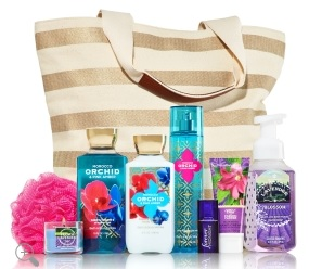 Bath and Body Works World Tour Tote