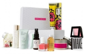 Birchbox In Full Bloom box