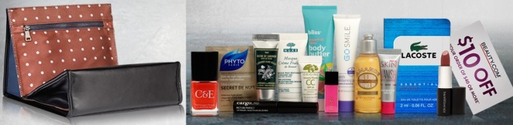 Beauty.com July Deluxe Sample Bag