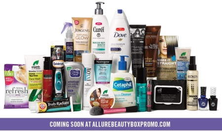 Allure Fall 2014 Beauty Box