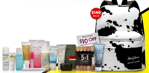 Beauty.com Fall 2014 deluxe sample bag