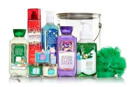 Bath and Body Works Holiday Bucket