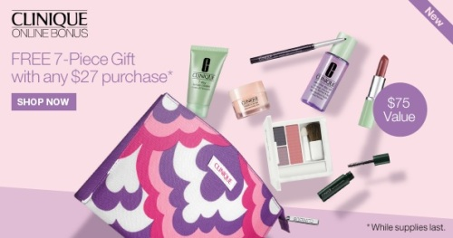 Clinique.com Fall Bonus 2014