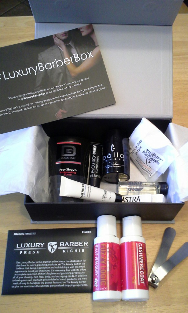 Luxury Barber Box November 2014