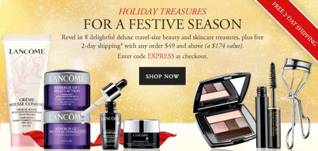 Lancome offer