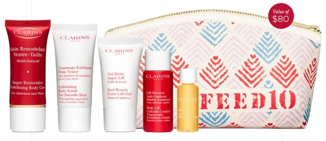 Clarins January 2015 GWP