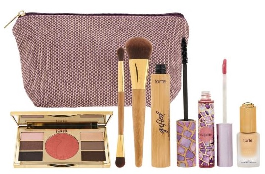 QVC set at Tarte