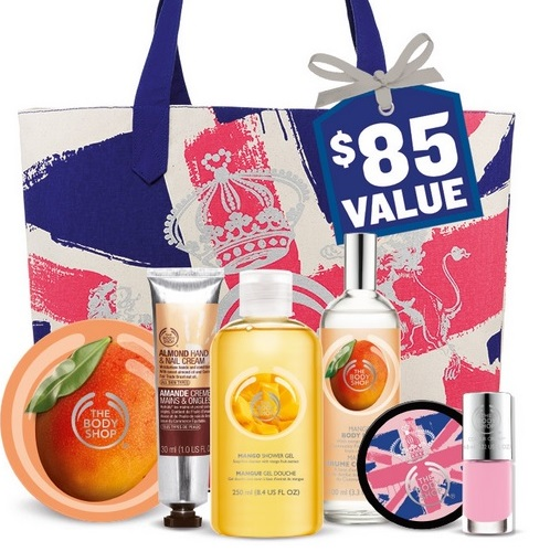 The Body Shop Mother's Day Tote 2015