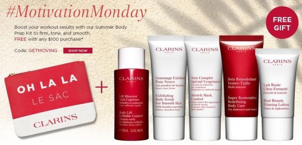 Clarins Beautiful Pregnant Set: Stretch Mark Minimizer ml+ Body Oil Clarins.
