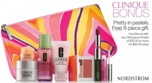 Clinique Bonus @ Nordstrom sneak peek