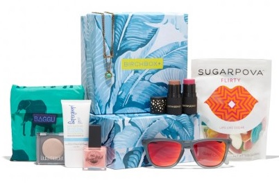 Birchbox Under the Sun box