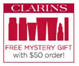 Clarins Mystery GWP