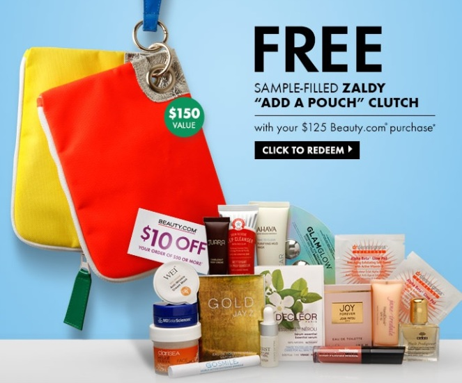Beauty.com Deluxe Sample Bag GWP