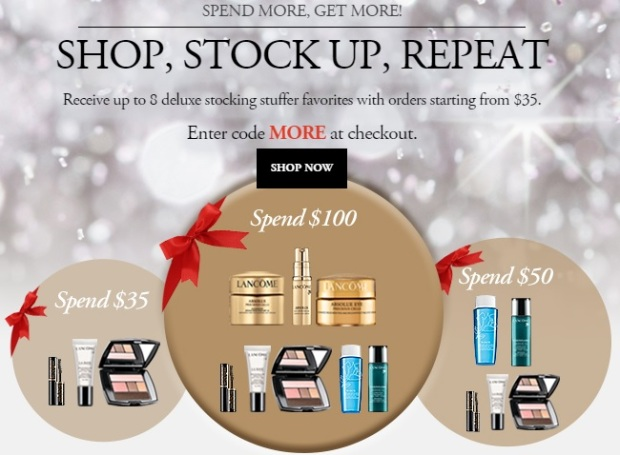 Lancome sample offer