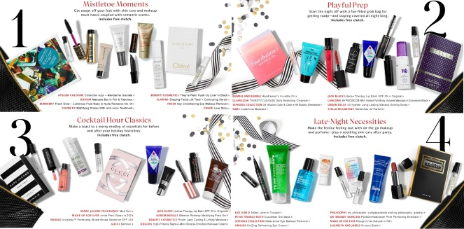Sephora Party Picks GWPs