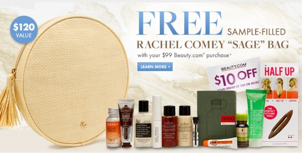 Beauty.com deluxe sample bag