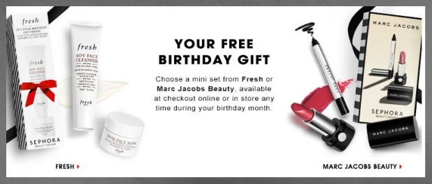 Sephora Beauty Insider Birthday Gift 2016