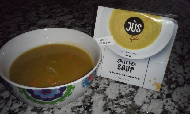 Split Pea Jus by Julie Soup