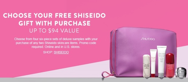 Shiseido GWP at Nordstrom