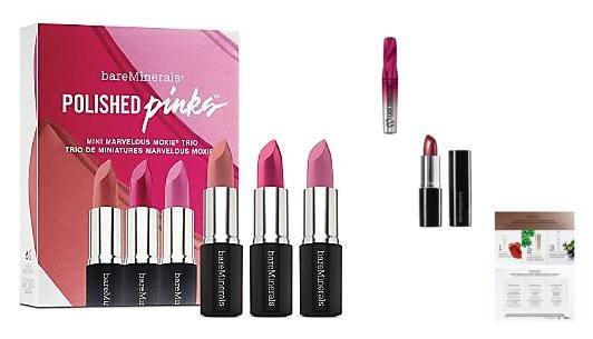 bareMinerals mini lipstick trio