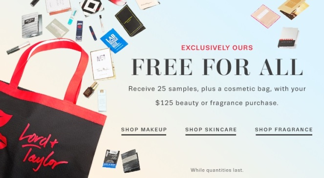 Lord & Taylor GWP