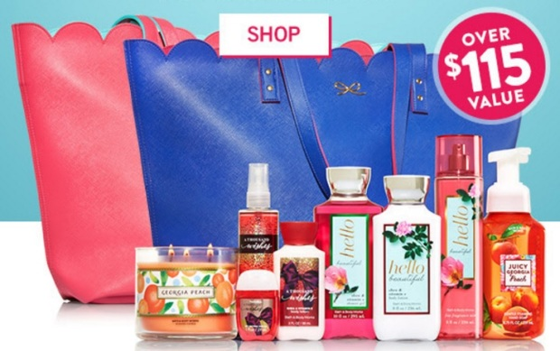 Bath and Body Works VIP Tote 2016