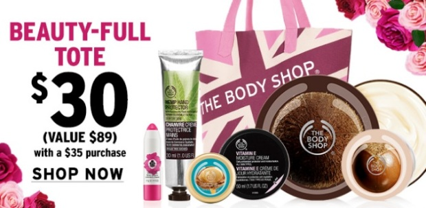 The Body Shop Mother's Day Tote PWP 2016