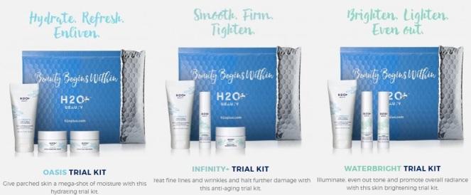 H2O Plus Trial Kits