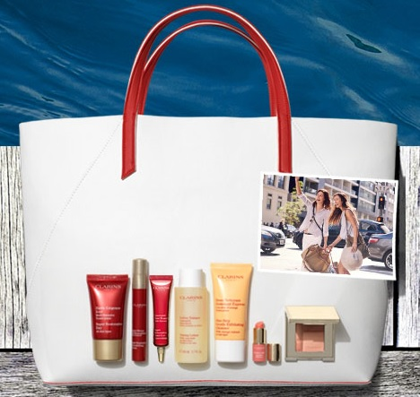 Clarins 4th of July GWP