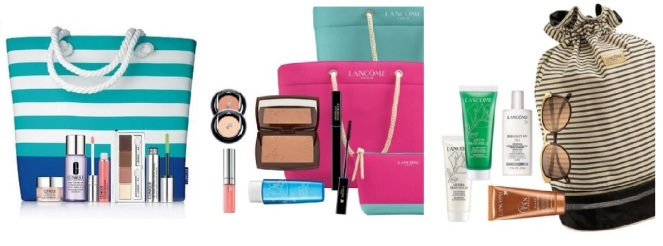Clinique and Lancome Summer PWPs