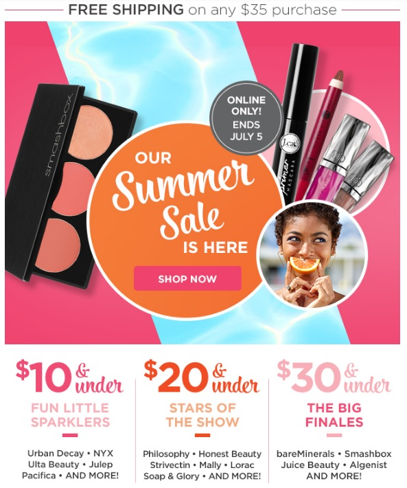 Ulta Summer Sale