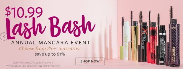 Beauty Brands Mascara Event