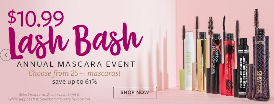 Beauty Brands Mascara Event