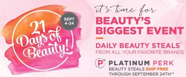 Ulta 21 Days of Beauty