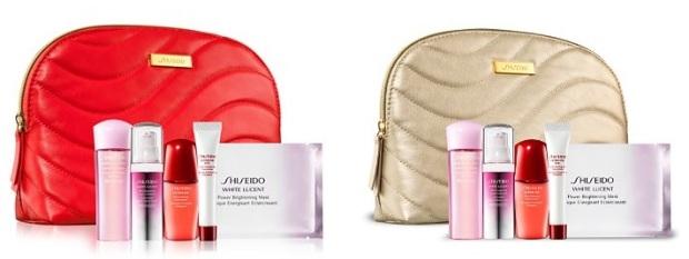 Shiseido GWPs October 2016
