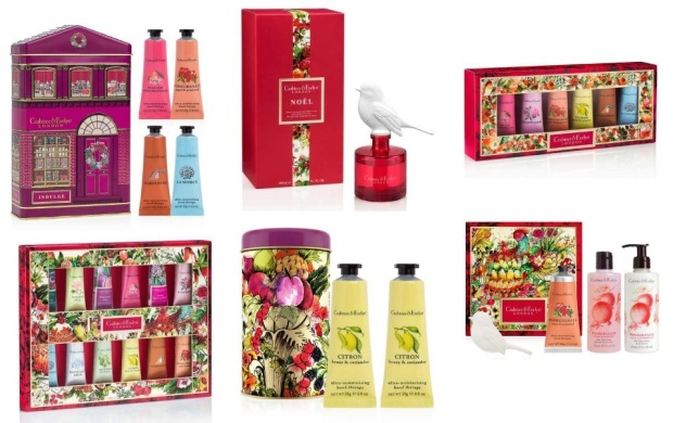 Crabtree & Evelyn 2016 Holiday Items