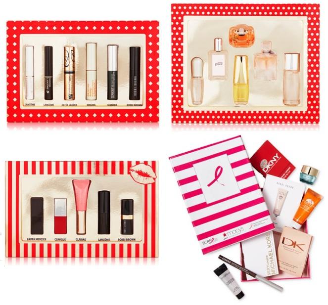 Macy's beauty samplers