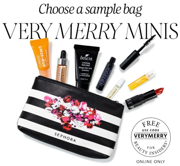 Sephora Sample Bag