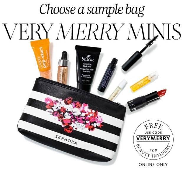Sephora Sample Bag