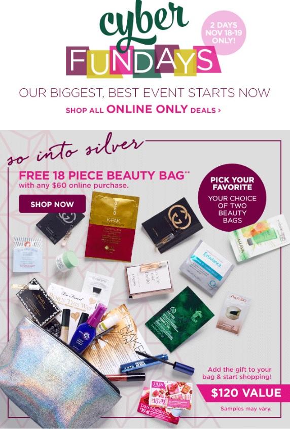 Ulta Beauty Cyber Fundays